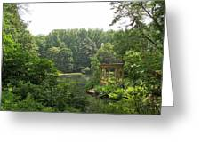 Lake Gazebo Greeting Card