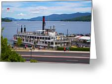 Lake George Cruise Greeting Card