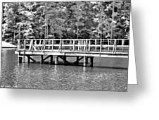 Lake Greenwood Pier Greeting Card