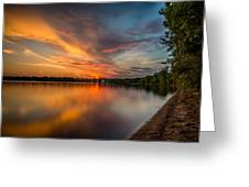 Lake Harriet Grand Finale Greeting Card