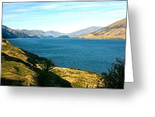 Lake Hawea Greeting Card
