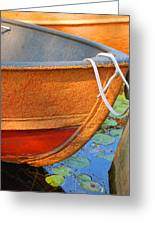 Lake Hopatcong Boat Greeting Card