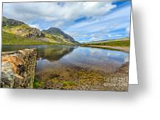Lake Idwal Greeting Card