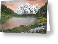 Lake In Austria Greeting Card