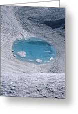 M-05416-lake In Summit Crater On South Sister Greeting Card
