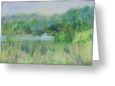 Lake Isaac Impressions Greeting Card