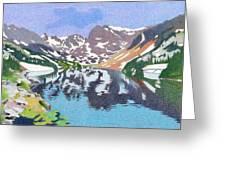 Lake Isabelle Colorado Greeting Card