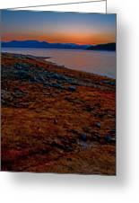 Lake Jocassee Sunrise Greeting Card