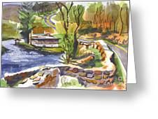 Lake Killarney Impressions Ironton Missouri Greeting Card