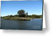 Lake Kirsty At Tifft Nature Preserve Buffalo New York Greeting Card