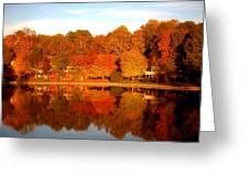 Lake Lochmere Greeting Card