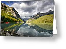 Lake Louise Banff National Park Greeting Card