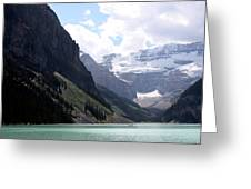 Lake Louise Greeting Card by Carolyn Ardolino