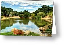 Lake Lucky Greeting Card
