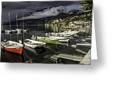 Lake Maggiore Ascona 1 Greeting Card