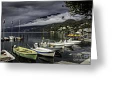 Lake Maggiore Ascona Greeting Card
