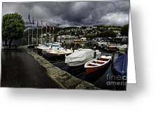 Lake Maggiore Boats 1 Greeting Card