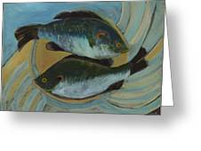 Lake Martin Fish Greeting Card