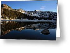 Lake Mary Brighton Utah Greeting Card