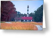 Lake Mattamuskeet Pumping Station Greeting Card
