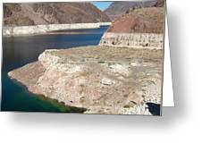 Lake Mead In 2000 Greeting Card