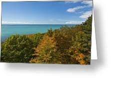 Lake Michigan Cut River 1 Greeting Card