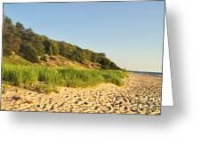 Lake Michigan Dunes 01 Greeting Card
