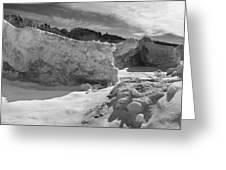 Lake Michigan Ice II Greeting Card