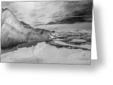 Lake Michigan Ice Iv Greeting Card