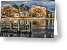 lake Michigan Greeting Card