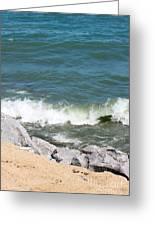 Lake Michigan Shore Greeting Card