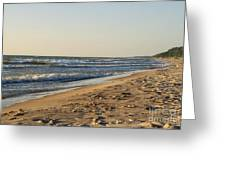 Lake Michigan Shoreline 02 Greeting Card