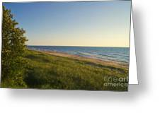 Lake Michigan Shoreline 05 Greeting Card