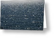 Lake Michigan Sparkling Water Greeting Card