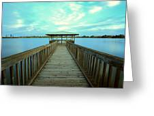 Lake Monger Western Australia Greeting Card