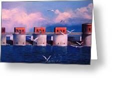 Lake Murray Towers Greeting Card