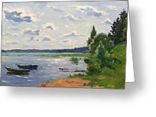 Lake Naroch Greeting Card