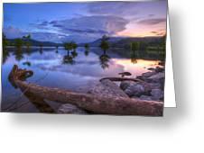 Lake Ocoee Greeting Card