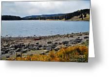 Lake On The Grand Mesa Colorado Greeting Card