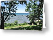 Lake Ontario At Webster Park Greeting Card