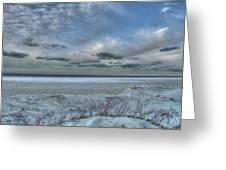 Lake Ontario Snow Greeting Card