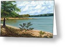 Lake Ouachita Greeting Card