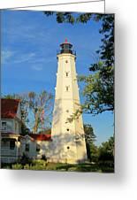 Lake Park Light House 2 Greeting Card