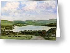 Lake Parker In Glover Greeting Card