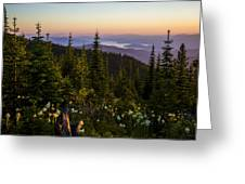 140701a-042 Lake Pend Oreille From The Cabinets Greeting Card