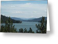 Lake Pend O'reille Greeting Card