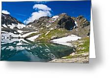 lake Pietra Rossa - Italy Greeting Card