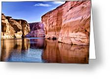 Lake Powell Antelope Canyon Greeting Card