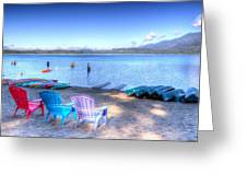 Lake Quinault Dream Greeting Card by Heidi Smith