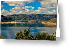 Lake Roosevelt Greeting Card by Robert Bales